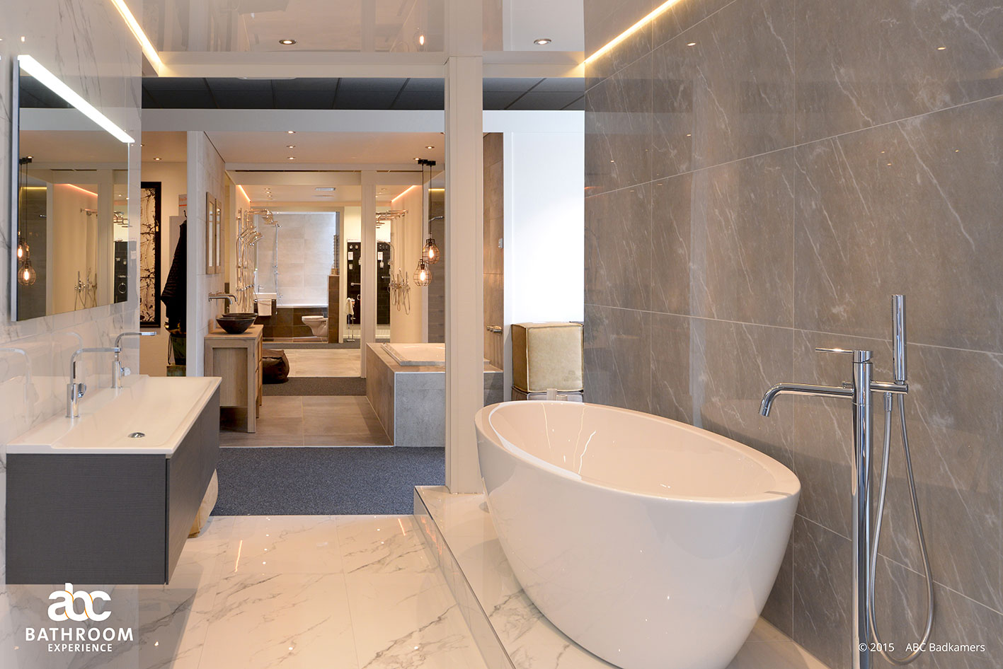 Nieuwe Badkamer Deventer : Showroom abc badkamers deventer overijssel