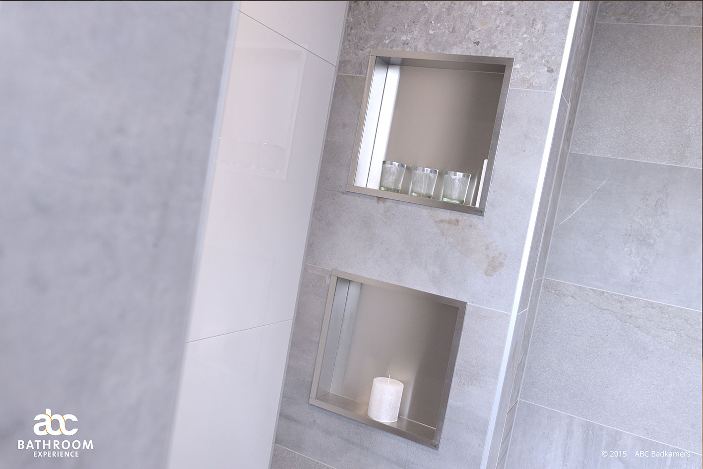 20170316 205104 nieuwe badkamer deventer - Behang in de badkamer ...