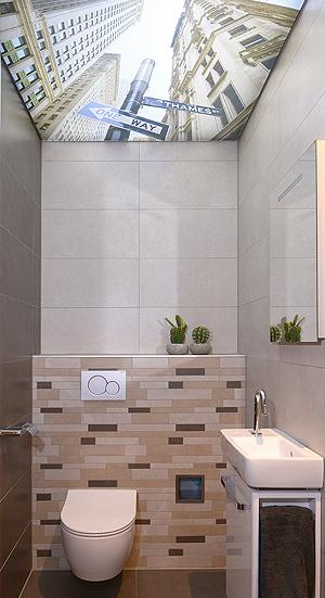 spanplafond, badkamer, toilet, plafond, spanplafonds