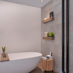 Stoere elementen in de badkamer